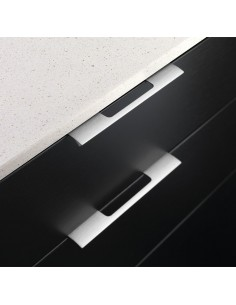 Edge Urban Trim Door Handles,  Innox 200/350mm Length