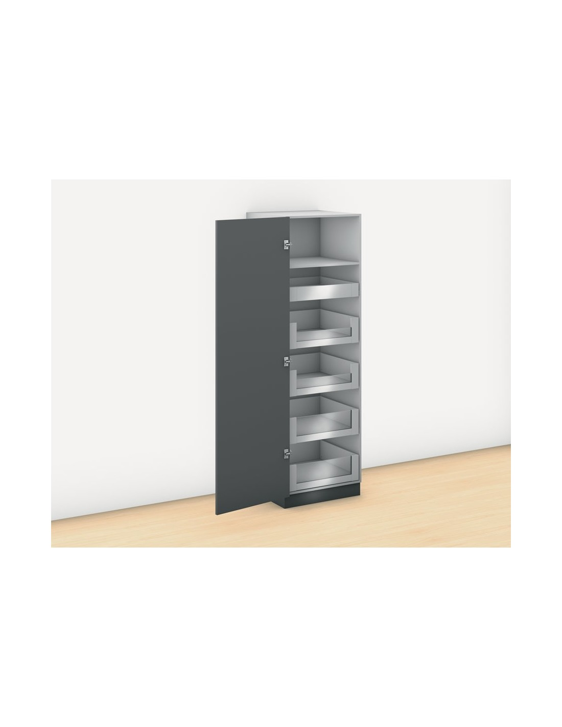 600mm wide blum legrabox free space tower internal drawers for Kitchen cabinets 500mm depth