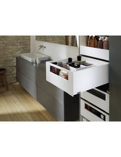Blum Legrabox Space Tower PURE 450mm Depth White