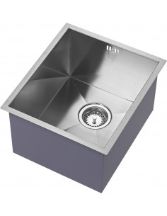 Zenuno 340U Sharp Square Kitchen Sink Extra Deep Bowl