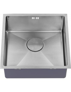 Zen15 400U Square 1.0 Kitchen Sink Inset/Under Mount 1.2mm Thick