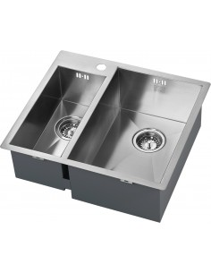 Zenduo 1.5 Bowl Sink Flush/Under Fit No Drainer