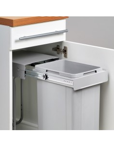 Wesco Bio Kitchen Waste Bin 300mm Cabinets Hinged Doors 32L