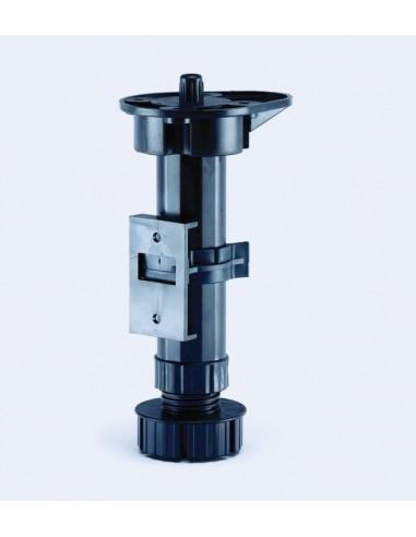 150mm Circular Plinth Base Leg Set Screw Fixing X4