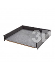"Blum Legrabox Drawer 500mm Depth ""M"" Height 90.5mm"