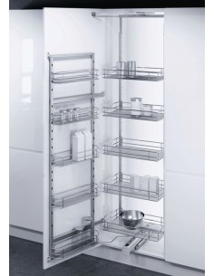 500mm Swing Out Pantry Kitchen Tall Storage
