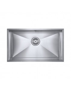 Axixuno Large Single Bowl Kitchen Sink, 1.2mm Stainless Steel