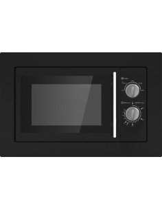 Prima PRCM200 Built In Black Microwave Oven 20 Litres