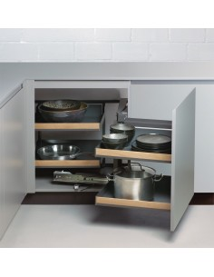 Peka Fioro Magic Corner 450/500mm Door Corner Storage