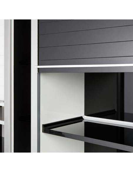 Rehau Vetro Line Black Glass