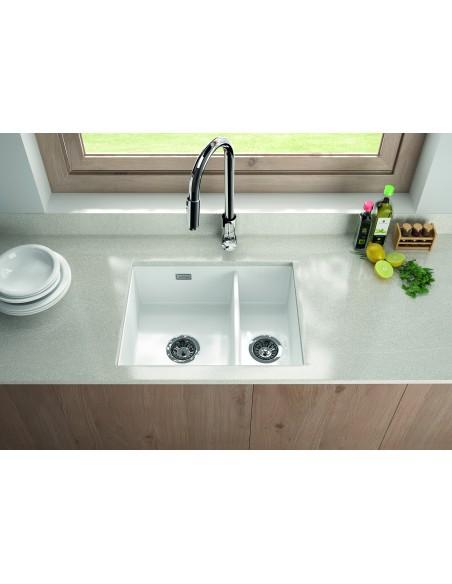 Thomas Denby Metro Ceramic 1.5 Bowl Kitchen Sink Top/Undermount