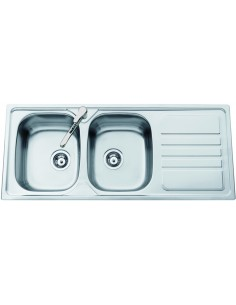 Clearwater Okio 2.0 Bowl Stainless Steel Kitchen Sink
