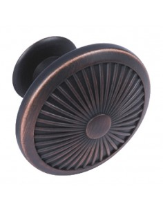 44mm Dia Door Knob, Bronzed
