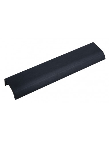 Black profile door handle