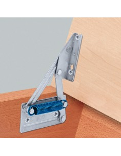 Bench Seat Hinge With Spring 12Kg Lift Up 95°