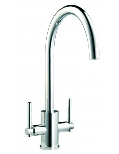 Clearwater Rococco Kitchen Monobloc Tap Chrome Or Brushed Steel