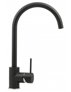 Elara Onyx Black Granite Kitchen Tap
