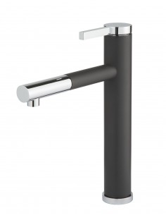 Clearwater Galatea GA4 Top Lever Tap Swivel Spout Nero
