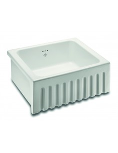 Shaws Bowland Apron Front Butler Sink Fluted Design 600mm
