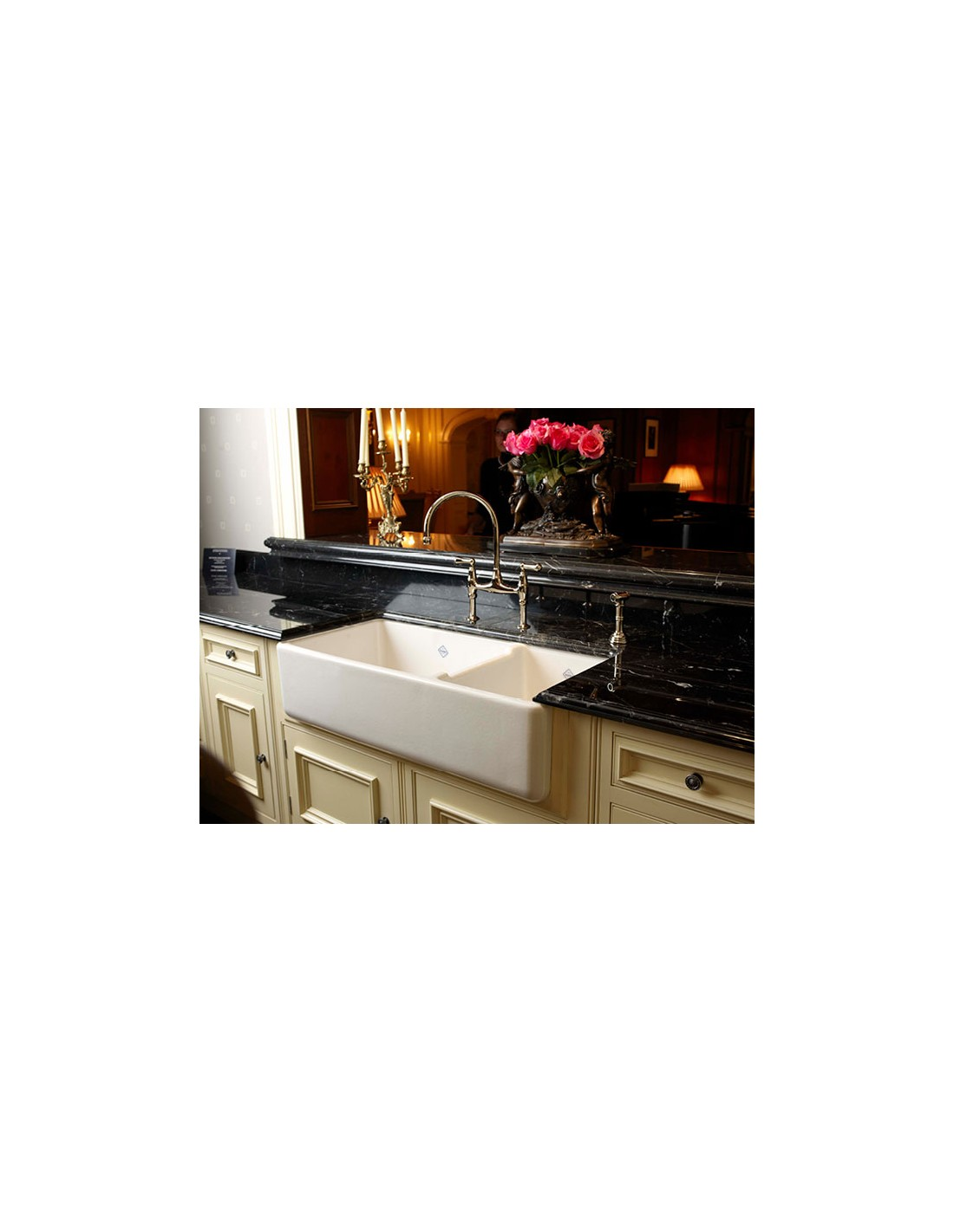 Shaws Classic Edgeworth Kitchen Sink Double Bowl Belfast