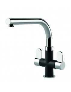 Miram Clearwater tap, Nero & Chrome
