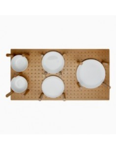Drawer Oak Peg Board Plate Insert 600 To 1000mm Blum Antaro/Intivo etc