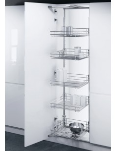 500mm Vauth-Sagel Swing Out Tall Larder  1700 - 2140mm Height