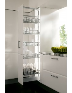 Vibo 400mm Tall pull out larder