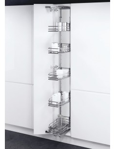 VS Tall Gate Pull out larder chrome