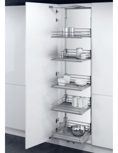 Vauth Sagel Swing Out Larder Unit Set Premea Wire Baskets For 600mm Unit