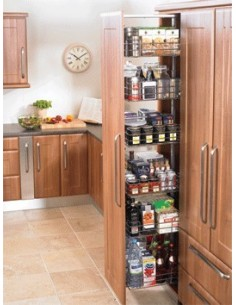 Kitchen Tall larder Wireworks Suits 300mm Widths