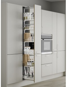 Luxury Tall PullOut Larder Solid Base Softclose 300mm
