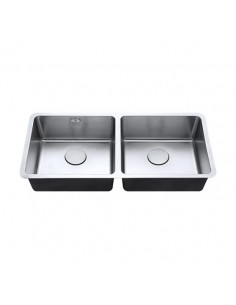 Luxsoplus 18/10 450/450U 2.0 Undermount Kitchen Sink