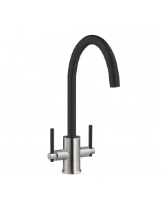 PRima BPR700 Black & Brushed Kitchen Tap