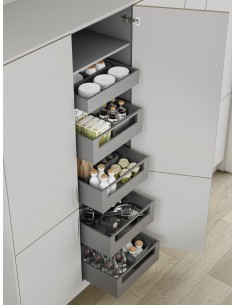 Pure Space Tower Orion Grey Drawers