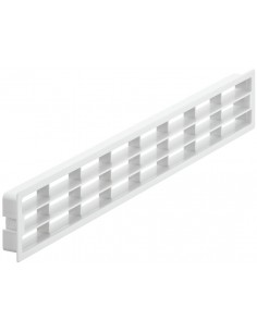 Ventilation Grill 400x83mm Recess Mount