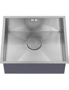 Zenuno 450U Sharp Square Kitchen Inset Or Under Mount