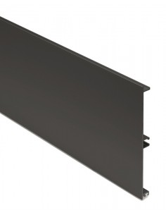 Graphite plinth panel