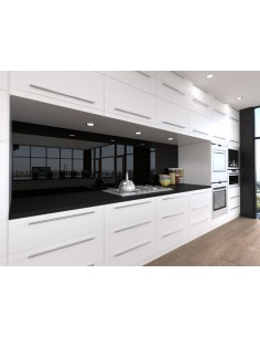 Black/Olive Splashback Alusplash