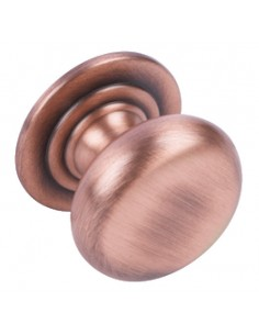 30mm Antique Copper Knob Handle