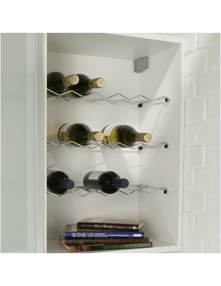 wine rack insert for kitchen units 150 300 400 500 600mm. Black Bedroom Furniture Sets. Home Design Ideas