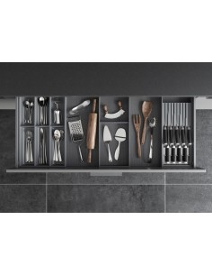 Legrabox Ambia-line drawer cutlery inserts & knife block set