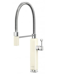 Cream spray tap from Smeg