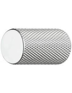 Polished Chrome, Textured modern door knob