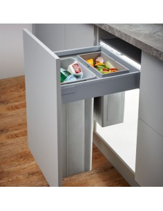 Wesco Pullboy Z Waste Bin For 450mm Depth Tandembox Runners