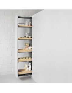 Peka Snello Fioro 300mm Solid Larder Shelving