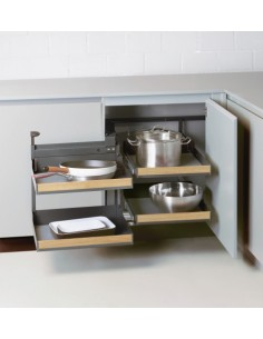 Peka Fioro Magic Corner 450 Door Luxury Corner Storage