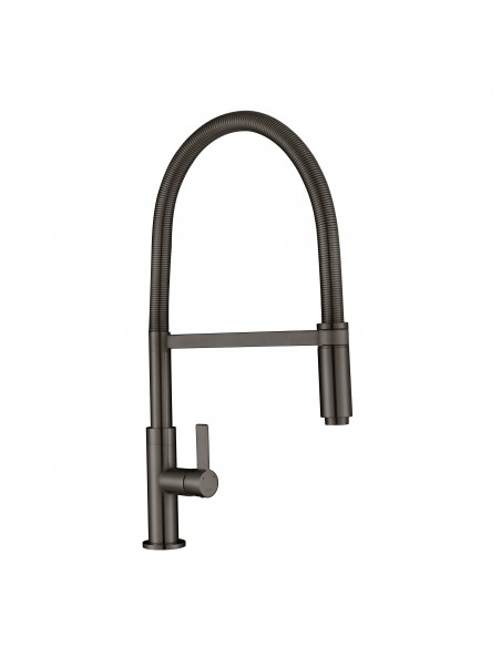 Gun Metal Spirale Spring Kitchen Tap