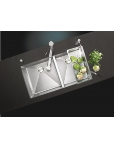 Clearwater Stark Square Modern 1.0mm Stainless Steel Sink SK77