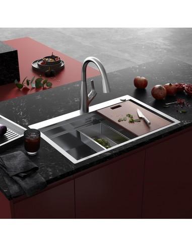 Clearwater Urban Smart Kitchen Sink & Tap Ledge